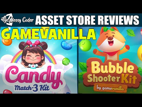 Unity Asset Reviews - Mobile Candy Match 3 - Puzzle Shooter Kit