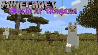 Minecraft | World of Dragons | #5 LLAMAPOOH