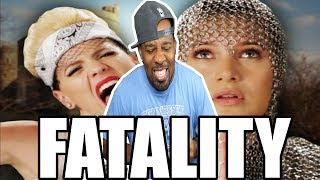 [ REACTION ] Miley Cyrus vs Joan of Arc‼ Epic Rap Battles of History‼ With Behind The Scenes‼