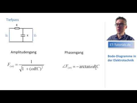 Bode Diagramme Amplitudengang und Phasengang - YouTube