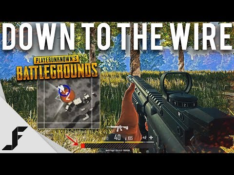 DOWN TO THE WIRE - Playerunknown's Battlegrounds PUBG