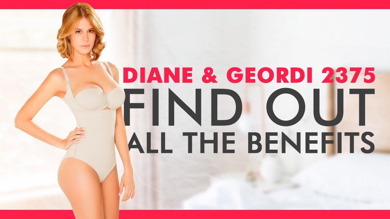 12a9e09647940 Diane   Geordi 2375 Women s Latex BodyShaper Fajas Colombianas - YouTube