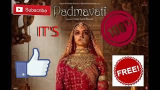 Download Paadmavati full movie HD    720p   1080p    torrent file