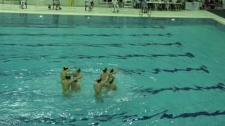 Синхронное плавание Чемпионат России 2017 СКИФЫ+ОЦ А.Давыдовой