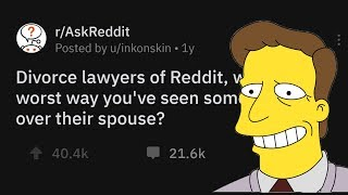 Download Divorce Lawyers Share The Worst Ways Someone's Gotten Back At A Spouse Mp3 and Videos