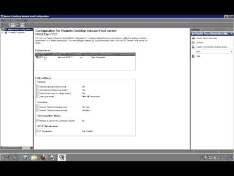 How To Automatically Close Disconnected Remote Desktop Sessions On A Windows 2008 Terminal Server