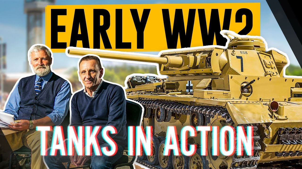 Early WW2 Tanks in Action | The Tank Museum