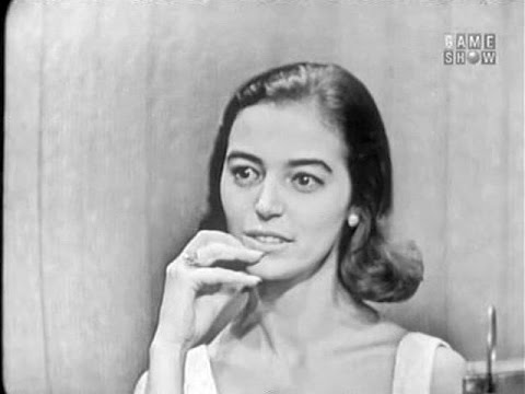 What's My Line?  Marisa Pavan; Walter Pidgeon panel Sep 2, 1956