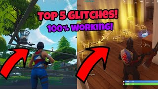 Fortnite Battle Royale Glitches (Top 5) Under the map God mode PS4/Xbox one 2018