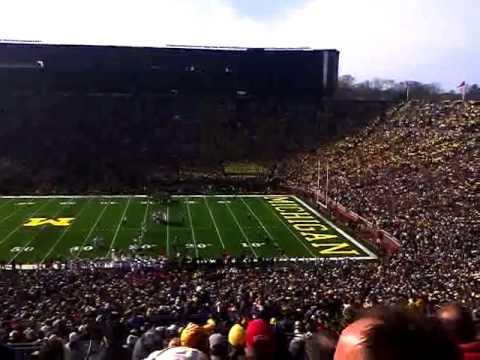 Michigan stadium is loud