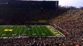 Michigan stadium is loud
