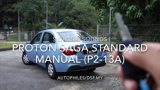 Proton Saga Sights & Sounds
