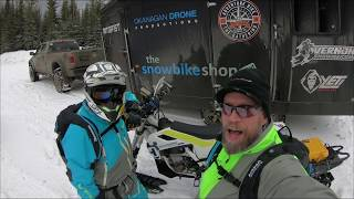 Snowbike Tips for Beginners, Engine Temp Mgmt, and The Best Shop Ever!
