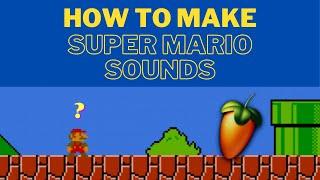 슈퍼마리오 고전게임 사운드 만들기 !