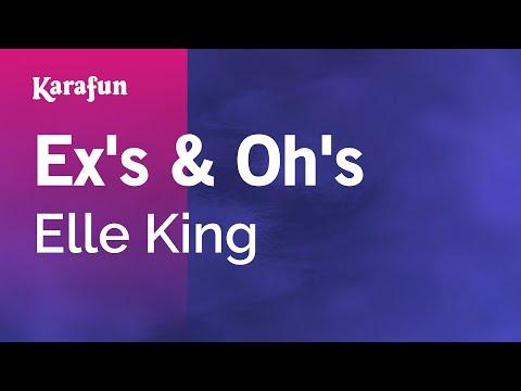 Karaoke Ex's & Oh's - Elle King *