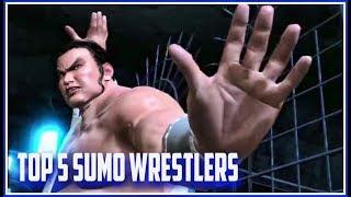Top 5 Sumo Wrestlers In Fighting Games