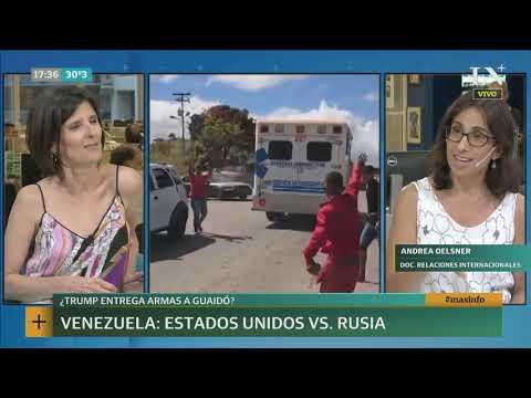 Crisis En Venezuela: Estados Unidos Vs. Rusia  +INFO