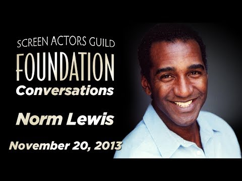 Conversations with Norm Lewis
