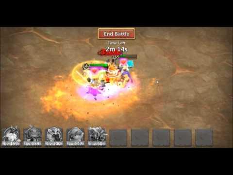Castle Clash Boss 3 Solo Dealing 120 Million Damage In Less Than 3 Minutes.