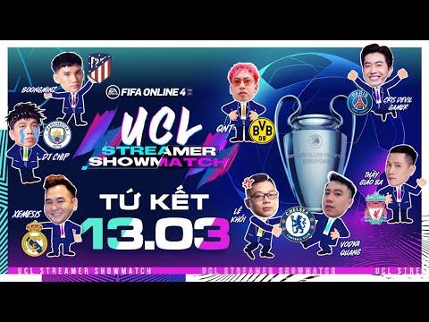 [Trực tiếp] 🔴 Tứ kết UCL Streamer Showmatch (Phần 1/3)