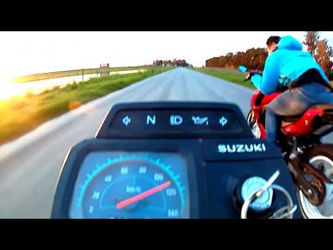 SUZUKI AX 100 TOP SPEED