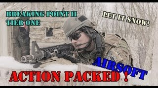 Airsoft Skirmish | Action Packed Airsoft @ Breaking Point II | JG G36C, G&P M4, ...