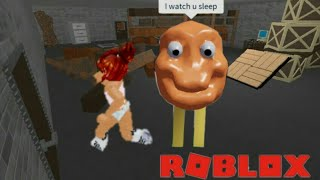 Playing Flee The facility  Roblox  (Read description)
