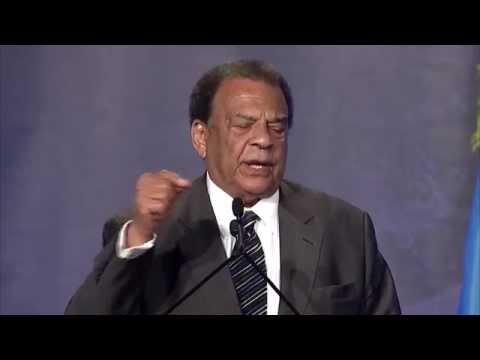 Amb. Andrew Young speaks at Rwanda Day Atlanta - 20 September 2014