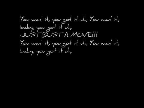Bust a Move Lyrics