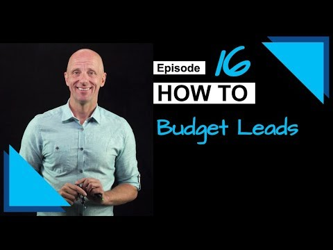 How to Budget for Leads | Sales as a Science #16 | Winning By Design