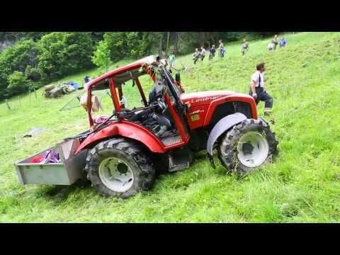Vorarlberg: Tödlicher Unfall mit Traktor in Au im Bregenzerwald