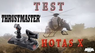 ArmA 3   Test du Joystick Thrustmater Hotas X