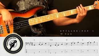 Zafer Şanlı Bas Gitar Dersleri Stiller Pop 1 60 Bpm