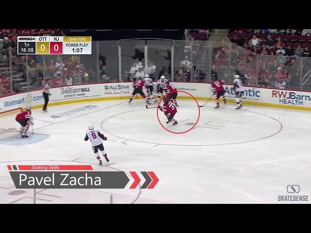 Hockey Skating Analysis | Pavel Zacha 🏒🚀