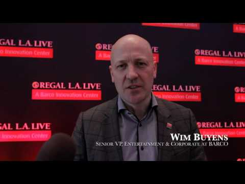 Regal L.A. LIVE: A Barco Innovation Center VIP Launch Event