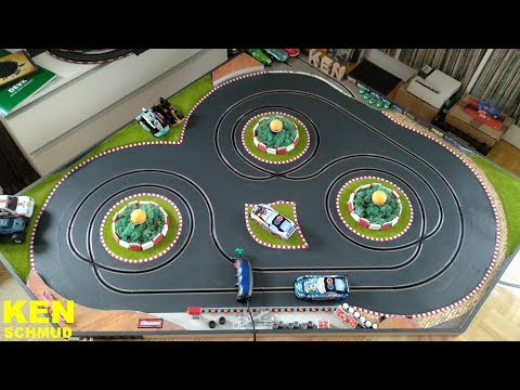 Making-of Slotcar Einspur Driftbahn | Carrera | Scalextric | Digital 132 | Evolution | GO!!!
