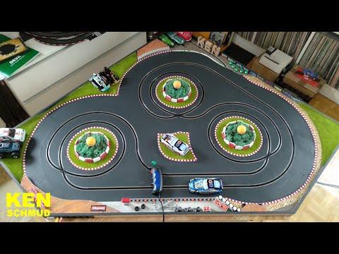 Making-of Slotcar Einspur Driftbahn | Carrera | Scalextric | Digital 132 | Evolution | GO!!!