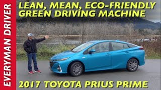 Here's my 2017 Toyota Prius Prime Plug-in Hybrid Review on Everyman Driver