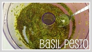 Recipe- Basil Pesto