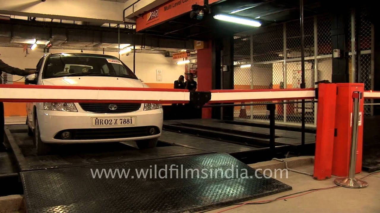 Sarojini Nagar Multilevel Car Parking Youtube