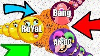 GODLIEST AGAR.IO #UNCUT *TRIO* EVER?! FUNNY AGAR.IO FAILS & FUNNY MOMENTS!! (ft. Arctic & Bang)
