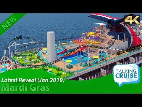 Mardi Gras (New Carnival Mega Cruise Ship) – Latest News - Jan 2019