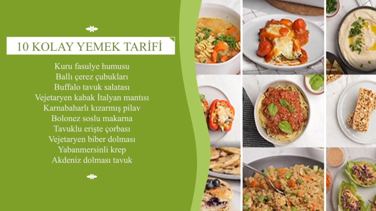 10 Kolay ve Nefis Yemek Tarifi | Püf Noktalar ile Yemek Tarifleri & Dünya Mutfağı ✅