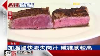 牛肉加熱冒「血水」 不是血是肉汁