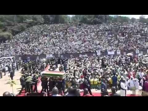 Zimbabwe Heroines Laid to Rest