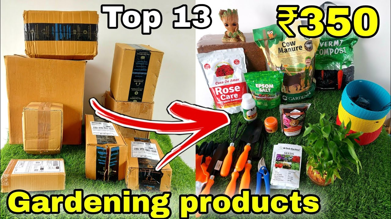 Top 13 Gardening products under 350/- Rs (from Amazon)