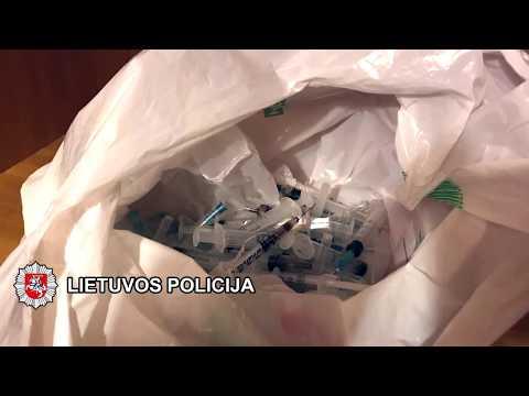 Klaipėdos kriminalistai ir vėl sulaikė kelis heroino platintojus