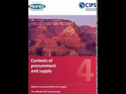 Contexts of procurement and supply - Own Review Notes