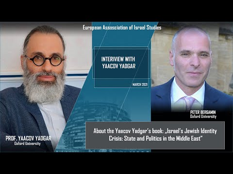 Peter Bergamin's Interview With Yaccov Yadgar - About His Book: Israel's Jewish Identity Crisis