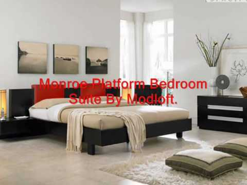 High End Bedroom Furniture Leather Bed Modern Leather Bed